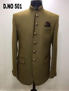 Bandhgala. Jodhpuri Brown Tuxedo, Double Breasted Suit, Suit Jacket, Blazer, Suits, Jackets, Men, Design, Fashion