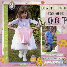 Battle For The Loot, layout by Dianedi