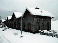 Lotru (201)-Railway station - Romania