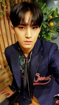 Read Mingyu from the story Seventeen Imagines by (Jimins Jams) with reads. Woozi, Mingyu Wonwoo, Seungkwan, Mingyu Seventeen, Seventeen Debut, Vernon, Hiphop, Warner Music, Kim Min Gyu