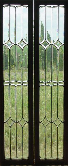 new ideas for stained glass front door ideas bathroom windows Front Doors With Windows, Glass Front Door, Sliding Glass Door, Glass Doors, Windows 20, Stained Glass Door, Leaded Glass, Beveled Glass, Etched Glass
