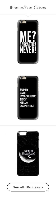 """iPhone/Pod Cases"" by that-awkward-fangirl ❤ liked on Polyvore featuring…"
