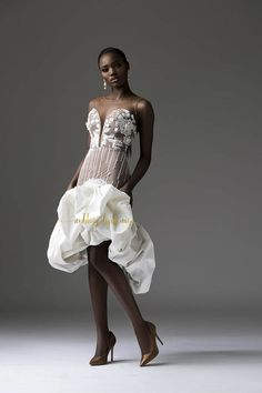 Tubo Depicts The Classic Feminine Form With This Timeless & Ultra Gorgeous Bridal Collection Wedding Dress Trends, Wedding Gowns, Wedding Attire, Couture Dresses, Bridal Dresses, Latest African Fashion Dresses, Gowns With Sleeves, Bridal Fashion Week, African Dress