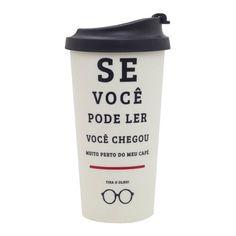 Copo Térmico Viagem - De Olho No Café -