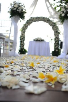 Anantara Seminyak Bali Resort - Venues - Sunset Wedding Ceremony at the Beach Deck - Indonesia