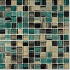 Dell'Arte - mozaiki dekoracyjne Copper Blue 25 (plaster 30x30)
