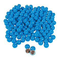 Blue Chocolate Candies - OrientalTrading.com #2 lbs = approx. 1184 pcs, $9.00, Also available in Light Blue