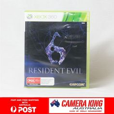 Resdient Evil 6 for Xbox 360 PAL AUSTRALIA