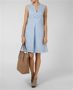 120%lino - Yahoo Image Search Results Blue Dresses, Dresses For Work, My Wardrobe, Retail, My Style, Casual, Image Search, Beauty, Collection