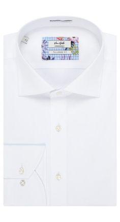 Shirt White - Van Gils herenmode