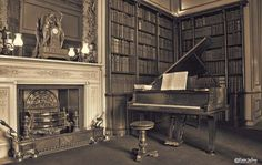 Chatsworth House Piano