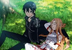 Store en tissu (Wall Scroll) - Sword Art Online (SAO) Vol.4 - Kirito et Asuna