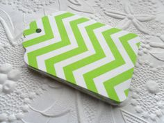 20 Green Chevron Gift Tags-Hang Tags-Price Tags-Blank-Craft Punch by WithLovebyTwoSisters on Etsy https://www.etsy.com/listing/151492685/20-green-chevron-gift-tags-hang-tags