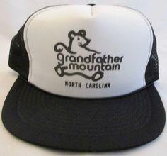 94d24a6d26dd0 Vintage Grandfather Mountain North Carolina Adjustable Mesh Snapback Hat Cap  new  Unbranded  BaseballCap Vintage