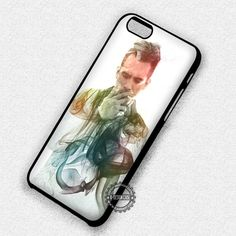 Guy Smoking Panic At The Disco Colors - iPhone 7 6 5 SE Cases & Covers