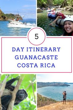 Coming to Costa Rica for a short trip? Here is a sample 5 day itinerary in Guanacaste via @mytanfeet