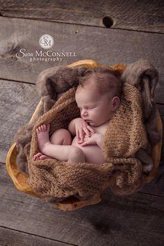 Ottawa Newborn Photographer | Baby pouts