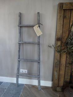 Robuuste Houten Ladder.De 45 Beste Afbeelding Van Houten Ladder Decoratief Uit 2019 Diy