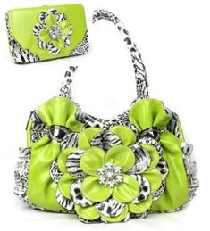 Lime Green Leopard F