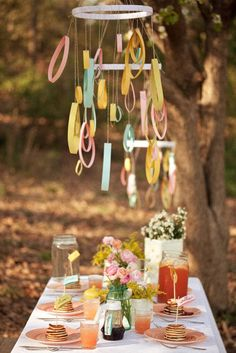 A Pancake Breakfast to Remember for Mother's Day! Invite your favorite Moms & Daughters to celebrate outdoors under the trees!    If only it were warm enough here!