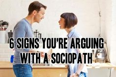 6 Signs You're Arguing With a Sociopath, Narcissist, or Psychopath | Narcissist, Sociopath, and Psychopath Abuse Recovery