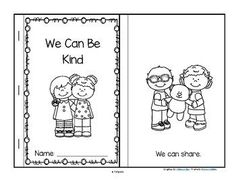 This is a booklet to make, a sample from my Martin Luther King pre-K curriculum. It features ways that young children can show kindness to each other. Manners Preschool, Free Preschool, Preschool Themes, Preschool Printables, Preschool Lessons, Preschool Classroom, Preschool Friendship Activities, Classroom Ideas, Friendship Crafts