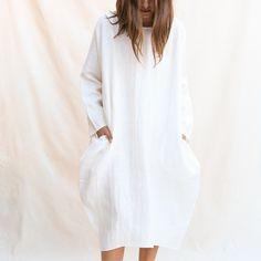 acbc7f09d1 Rachel Craven   Short Cocoon Dress - White Cocoon Dress