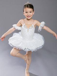 Snow Princess - Style 057   Revolution Dancewear Children's Dance Recital Costume