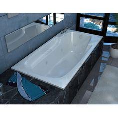 Coral Rectangular Bathtub - Drop-In Bathtubs - Bathtubs - Products