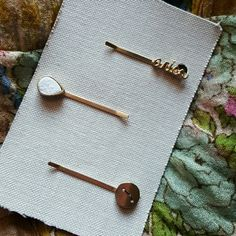 Anthropologie hair pins Aries zodiac constellation Gold toned Bobby pins. One has a white druzy-like stone. The Aries constellation pin has tiny little stones for stars. Very sturdy, tight bobby pins. Anthropologie Jewelry