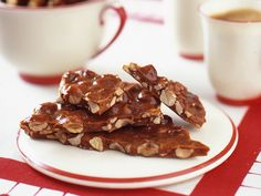 """Take a detour from tradition with hazlenut brittle (more elegantly known as """"noci croccante"""".)"""