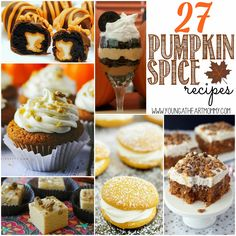 27 Pumpkin Spice Recipes #RecipeRoundup #Fall #PumpkinSpice