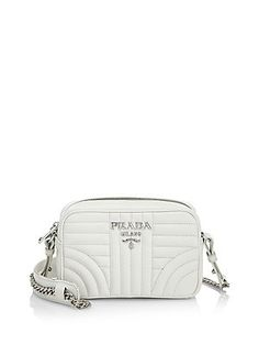 db3a801be807 Prada - Quilted Crossbody Bag. Leather Camera BagLeather Shoulder ...