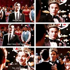 Blaine Anderson - super boyfriend! Seriously, though - this was all kinds of amazing.  How can you not love them?  How?