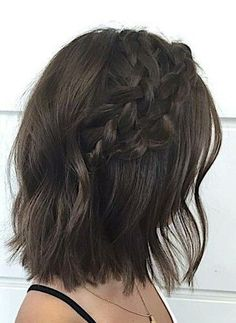 Black   Double Side Braid