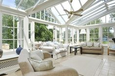 When Jeff said the house he was buying had a sunroom, this is what I was picturing. ;)