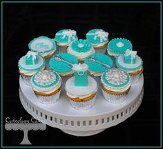 Tiffany+Themed+Cupcakes+
