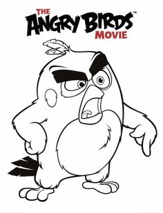 6 coloring pages of Angry Birds Movie on Kids-n-Fun.co.uk. On Kids-n-Fun you will always find the best coloring pages first!