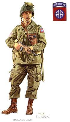 U.S. Airborne WW2, pin by Paolo Marzioli