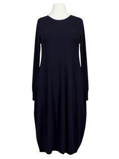 Damen Strickkleid A-Form, blau von Beauty Women bei www.meinkleidchen.de
