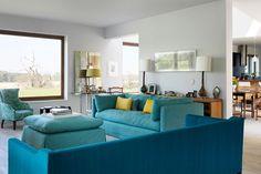 A kanapé helye: 20 stílusos nappali | Életszépítők