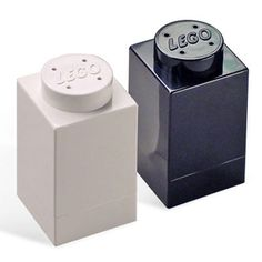 salt and pepper shakers | LEGO 1X1 Salt & Pepper Shakers - The Green Head