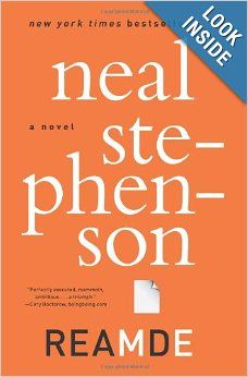 """Reamde by Neal Stephenson sounds like a """"ready Player One"""" type book"""