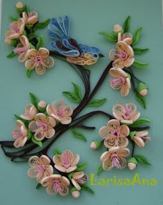 Fairy tale about quilling: More Flowers!!