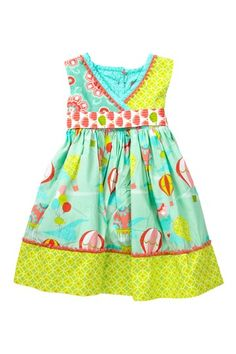 This is the greatest line of dresses for little girls.  I've ordered several in the past year!  Up Up Away Abbey Dress by Jelly the Pug on @HauteLook