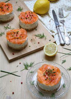 Cheesecake au saumon fumé - Les Gourmandises de Lou