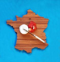 France cutting board