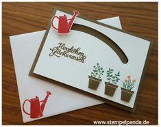 Stampin up stamp panda gift from the garden sliding star kullerkarte spinner card