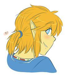 Zelda U E3 2014 - Link's Ponytail of Fabulousness