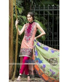 Lakhany Charlotte Exclusive Lawn Clothes Online 2015